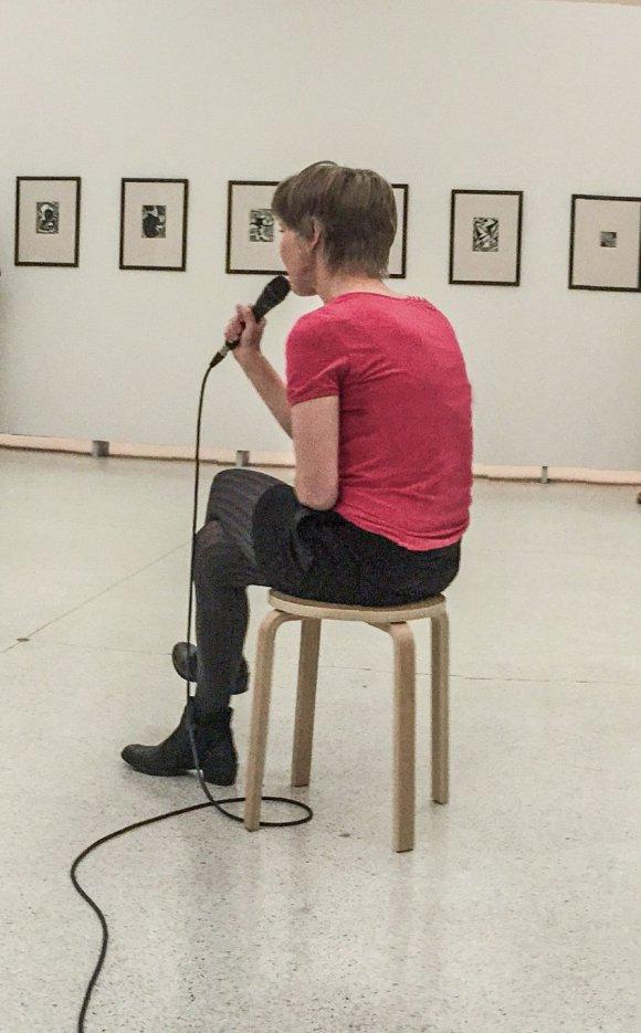 Sláva Sobotovičová, Bez názvu, Off2 Biennale, Veletržní palác, 2015.