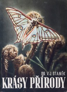 V. J. Staněk, cover of the book Krásy přírody (Beaty of Nature), 1949