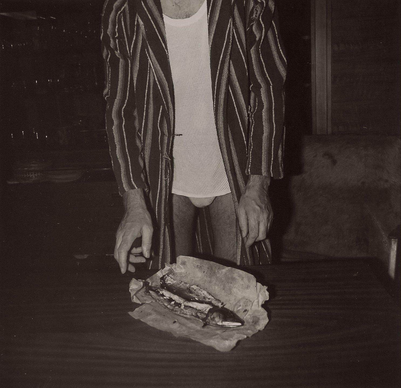 Roman A. Muselík: ze Souboru č. 5 /  Konzumace makrely / 1986