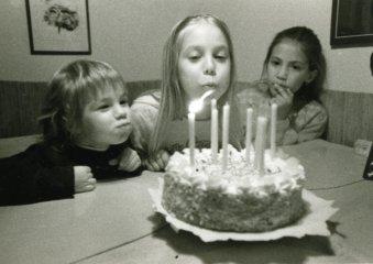 Oslava narozenin.