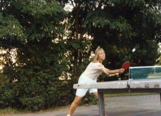 Stolní tenis.