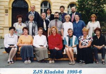 Učitelé ze Základní školy Kladská.